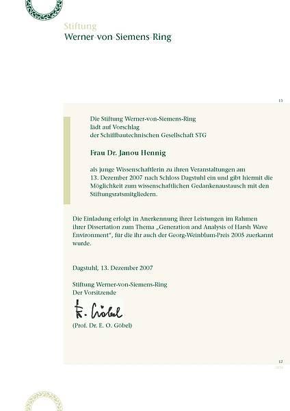 Einladung Janou Hennig
