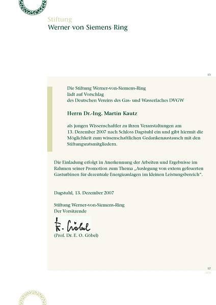 Einladung Martin Kautz