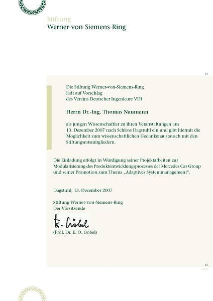 Einladung Thomas Naumann