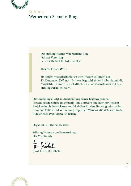 Einladung Timo Wolf