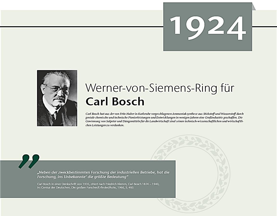 Siemens Ring Bosch