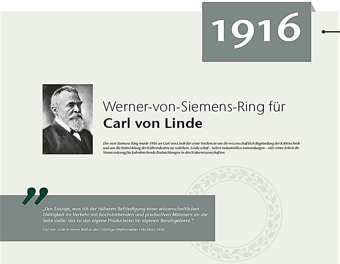 Siemens-Ring Linde
