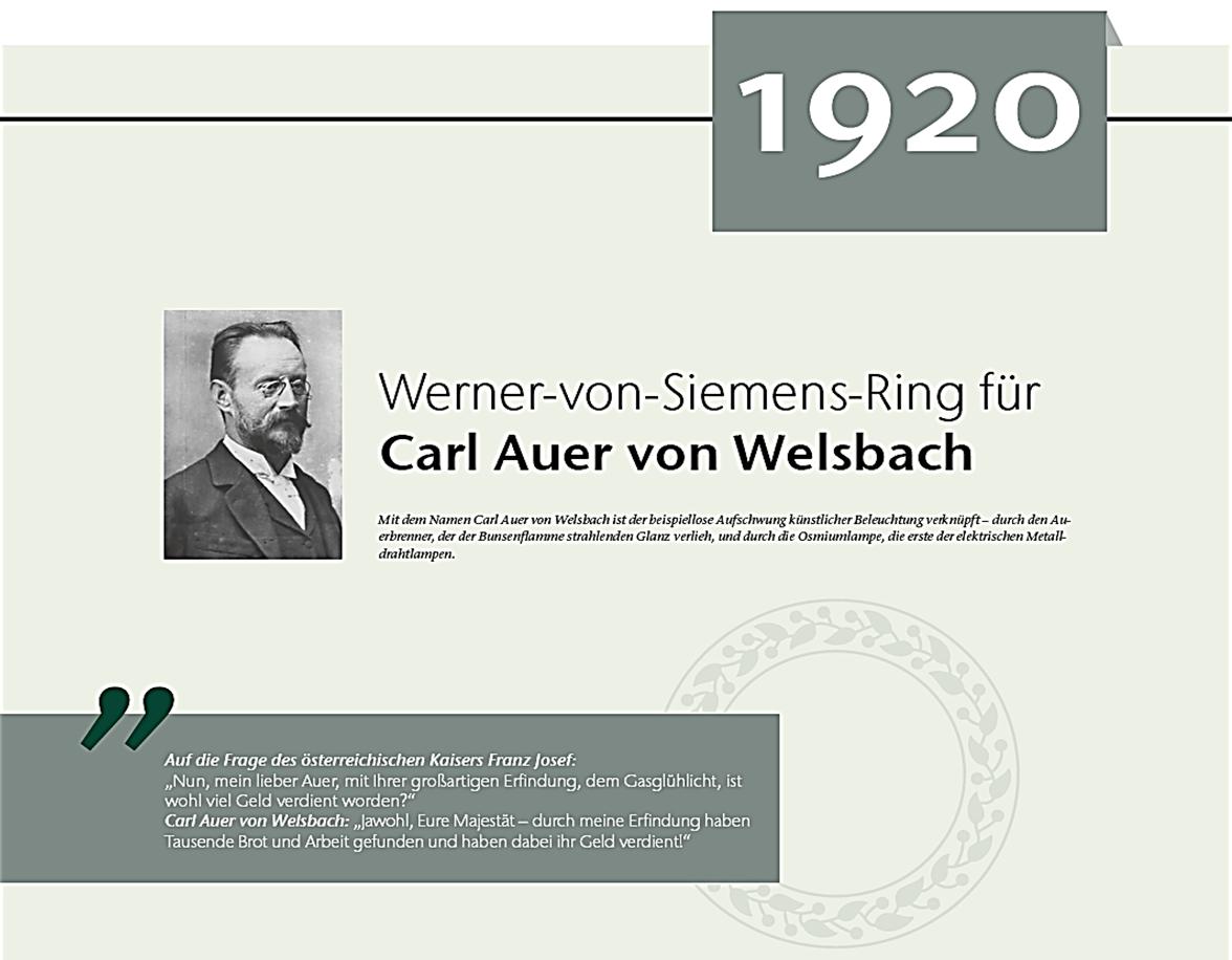 Siemens Ring Welsbach