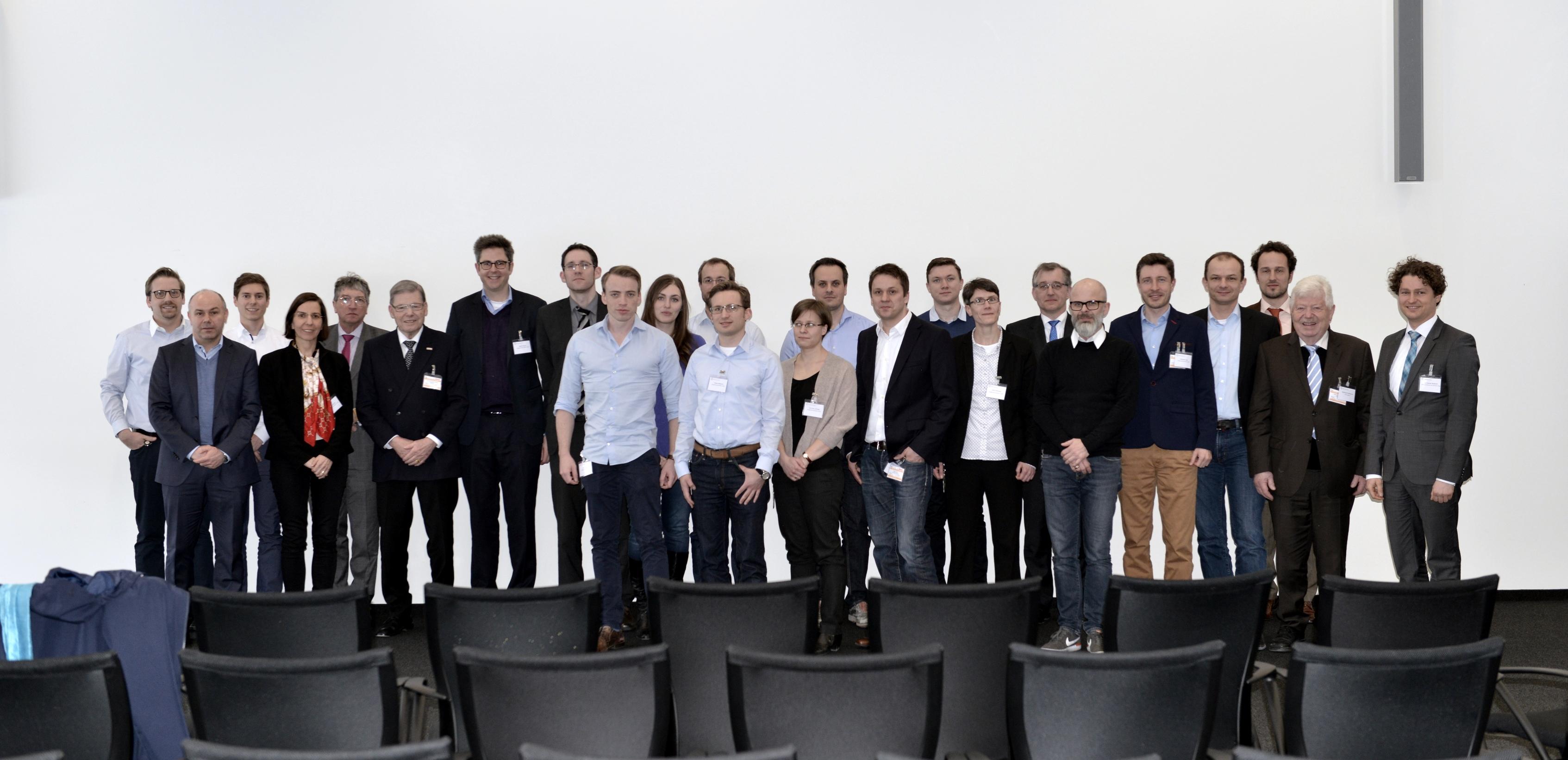 Jungwissenschaftler Vor Ort bei Bosch