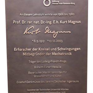 Gedenktafel Kurt Magnus
